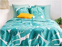 Parure de lit en percale de coton GRANY - housse