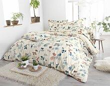 Parure de lit Feuillages Boréal coton