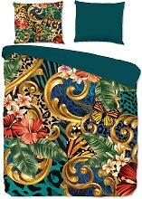 Parure de lit FLORIA - Multicolore - 200x200 -