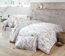 Parure de lit Herbier impression florale