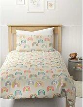 Parure de lit lumineuse en coton mélangé à