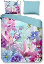 Parure de lit ORCHIDEES - Multicolore - 200x200 -