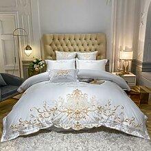 Parure de lit princesse en Satin de coton,