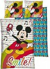 Parure housse de couette Mickey Disney avec 1 taie