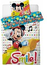Parure housse de couette Mickey Music Disney