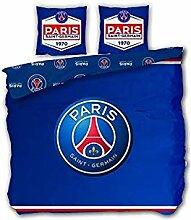 Parure Paris St Germain PSG Football de Lit Double