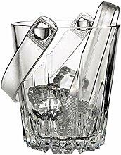 Pasabahce Karat Seau à glaçons en verre vin et