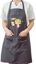 PASDD Femme Tablier de Cuisine Étanche Chefs