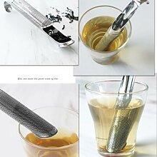 Passoire à thé Portable en acier inoxydable 304,