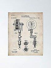 Patent de tatouage Patent - Tatooist Art Poster