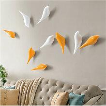 Patère crochet à fixation murale BIRD couleur