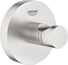 Patère murale supersteel Grohe Essentials