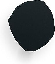 Patère noire H15,4cm