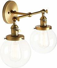 Pathson Réglable 2 Luminaire Applique Abat-jour