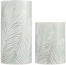 Pauleen 48117 Cosy Feather Candle Cire avec Pile
