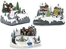 Paysages de Noël au choix pour décoration avec