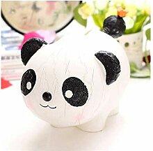 Peakfeng Tirelire Belle Panda Piggy Banque Résine