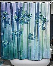 PeakLimits Polyester Rideau De Baignoire 180X180