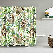 PeakLimits Shower Curtain Anti Moisissure Lavable