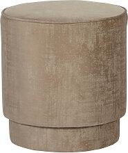 Pearl - Pouf en velours ø40cm