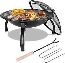 PEDY Barbecue Grill Extérieur,Barbecue Charbon