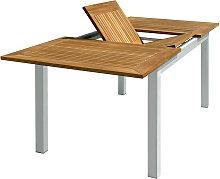 Pegane - Table de jardin rectangulaire et