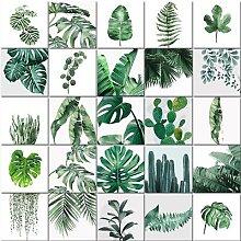 Peinture à l'huile par numéros de plante