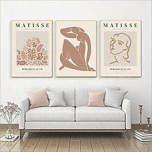 Peinture abstraite d'henry Matisse, impression