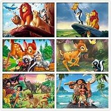 Peinture de diamant 5D à mosaïque de roi Lion,