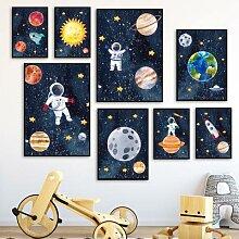 Peinture de diamant 5D d'astronautes de