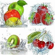 Peinture de diamant à mosaïque de fruits et