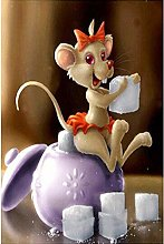Peinture Diamant Sucrier de souris de dessin