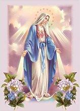 Peinture diamant «vierge marie», Religion,