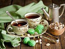 Peinture numéro adulte café après-midi thé