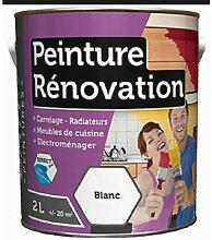 Peinture rénovation satin 2L: carrelage, meubles,