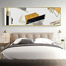 Peinture sur toile moderne abstrait ligne
