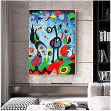 Peintures de la célèbre joane Miro, décoration