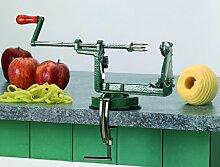 Pèle-pommes trancheur professionnel. Avec socle