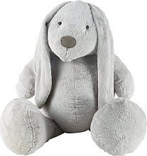 Peluche lapin grise