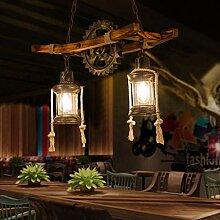 Pendentif Lampe Vintage Industrielle Suspension