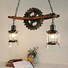 Pendentif Lampe Vintage Lustre Suspension Lampe