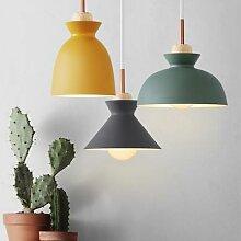 Pendentif lumineux LED coloré moderne lampe à