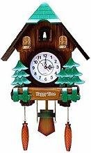 Pendule à Coucou Coucou Horloge Coucou Antique