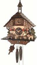 Pendule à coucou Maison de la Forêt-Noire avec