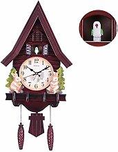 Pendule À Coucou Style Chalet, Horloge À Coucou