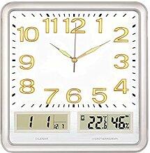 Pendule Murale Horloge Murale Multifonction