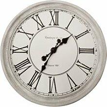 Pendule originel blanc ø48cm