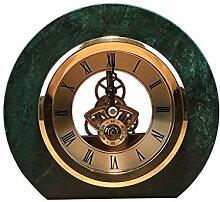 Pendulettes de Bureau Horloge de marbre Horloge