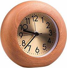 Pendulettes de Bureau Vintage Rond Horloge Design
