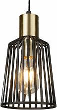 Pendulum Lampe Salon Éclairage Cage Luminaire